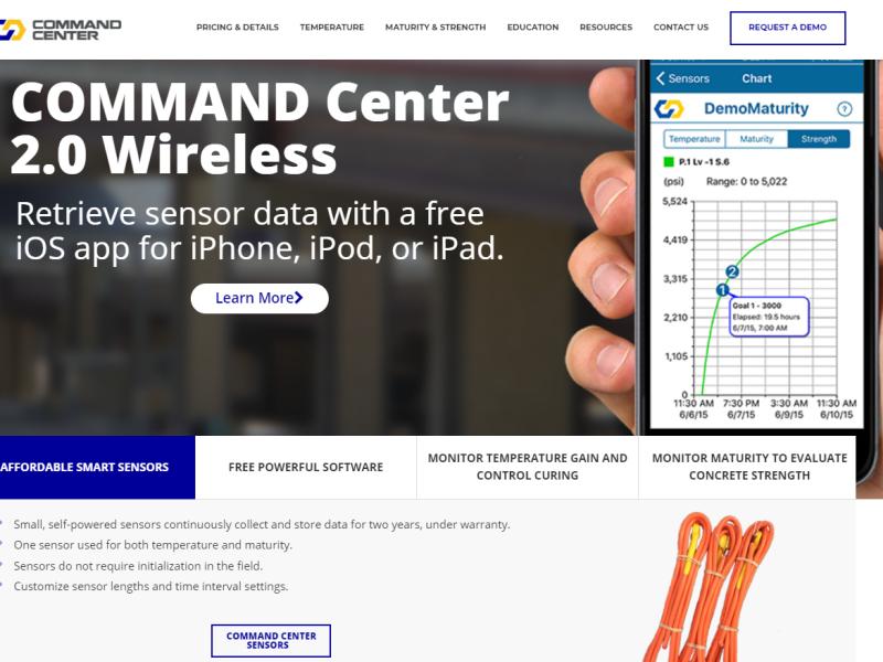 COMMAND Center Website