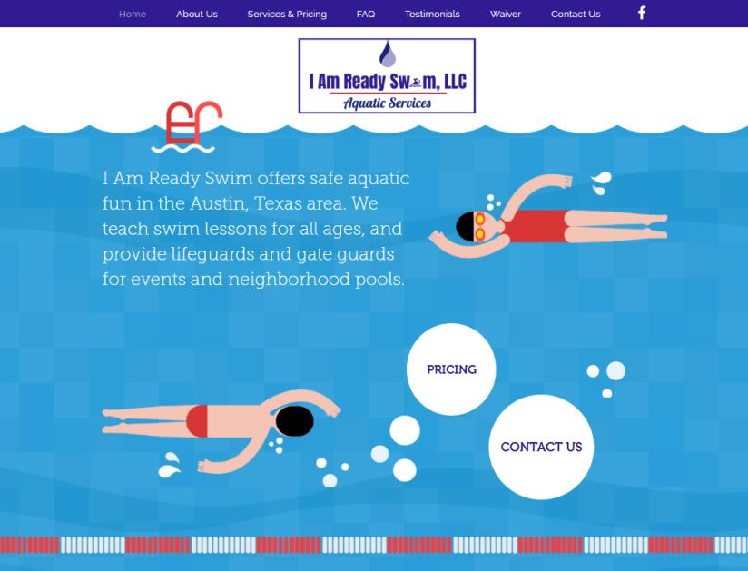 I Am Ready Swim Website